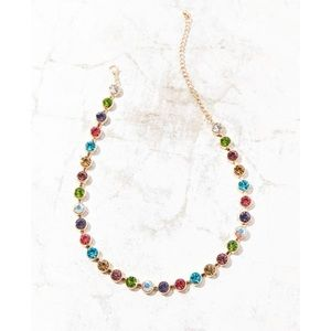 Eleni Rainbow Choker Necklace